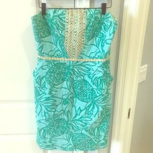 Lilly Pulitzer Strapless Shift, 10